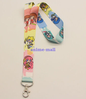 VOCALOID Kagamine Rin/Len Miku Anime Lanyard Neck Strap ID Card Badge Holder