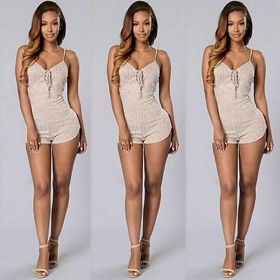 New Women Ladies Clubwear Playsuit Bodycon Party Jumpsuit Romper Trousers