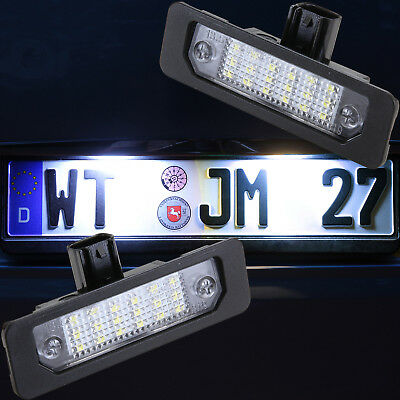 helle LED SMD Kennzeichen Beleuchtung Ford Mustang 2009-2014 Ford Flex  [7911]