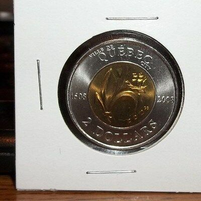 2008 Uncirculated Canadian 2 Dollar Coin Quebec