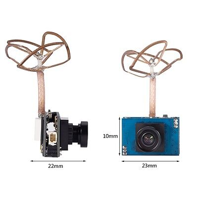 Ultra-small 5.8G 25mW 48CH Frequency Band 800TVL High-definition Analog Camera