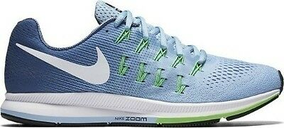 Nike Air Zoom Pegasus 33 Size 7 Running Shoes Womens Blue
