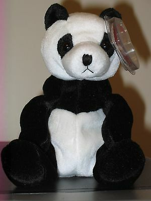 Ty Beanie Baby ~ MANDY the Panda Bear ~ MINT with MINT TAGS