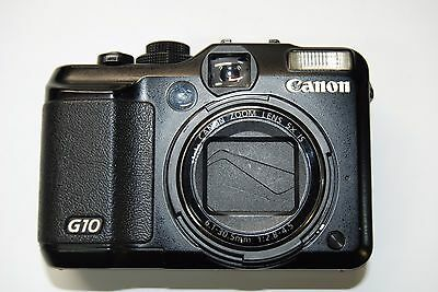 CANON G10 14.7MP 3''Screen Camera with 2x Conversion Lens - Full Set
