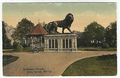 k england berkshire postcard reading
