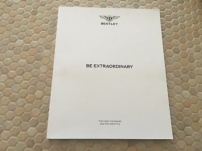 BENTLEY OFFICIAL PUBLICATION BE EXTRAORDINARY MAGAZINE BROCHURE 6th EDITION NEW