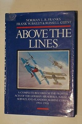 WW1 Imperial German Air Service Above the Lines Reference Book