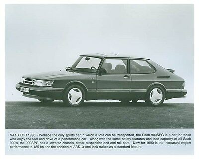 1990 Saab 900SPG ORIGINAL Factory Photo och4956