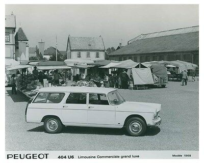 1968 Peugeot Limousine Commerciale Grand Luxe ORIGINAL Factory Photo och4973