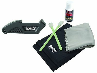 Smith's Be Sharp Be Ready Knife Care Kit Cleaning System For Cutlery 50352