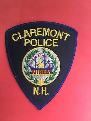 Claremont New Hampshire Police Shoulder  Patch