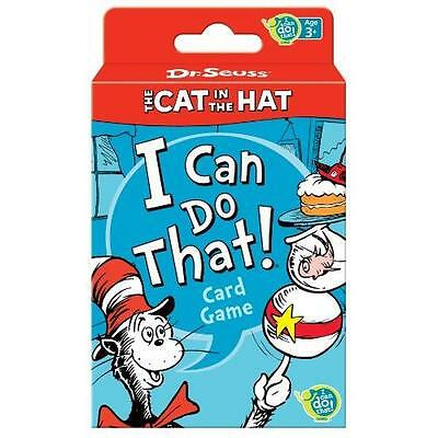 Dr. Seuss Cat in the Hat Card Game New