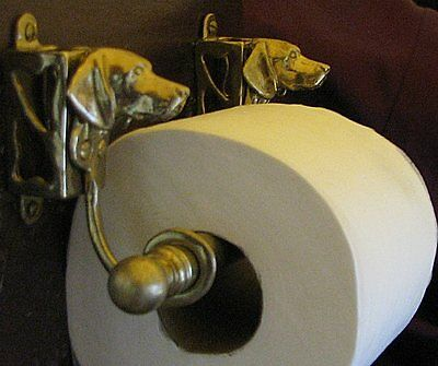 GERMAN SHORTHAIRED POINTER Toilet Paper Holder OR Paper Towel Holder!