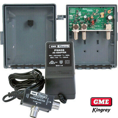 KINGRAY MHW35F And KPS06 Masthead Kit With LTE/4G + BAND1 Filtering
