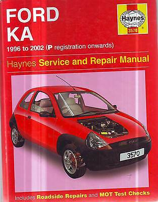 Ford  Ka  Workshop  Service Repair  Manual 1996-2002