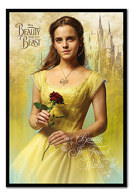 Framed Beauty And The Beast Belle Poster New