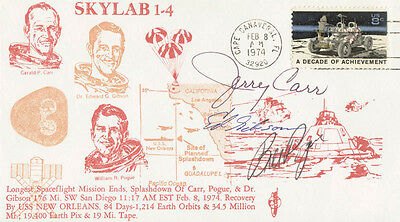 Edward G. Gibson - Commemorative Envelope Signed With Co-Signers
