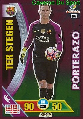 407 Marc-Andre Ter Stegen Germany Fc.barcelona Card Adrenalyn Liga 2017 Panini