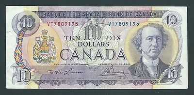 F.C. CANADA , 10 $ 1971 , MBC- ( VF ) , ROTURA EN LATERAL , P.88c .