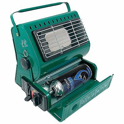 Parkland Portable Gas Heater Camping Fishing Festival Indoor Outdoor