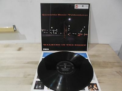 QUINTETTO BASSO-VALDAMBRINI walking in the night LP EX-/EX+ ORIG ITALIAN JAZZ