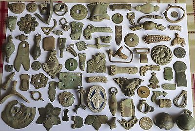 Interesting Group of Medieval & Post Medieval Metal Detecting Finds, Lot 1 of 3