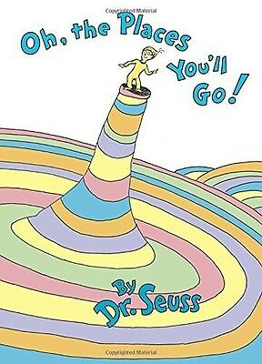 Oh The Places Youll Go - Dr. Seuss (1990, Book New)