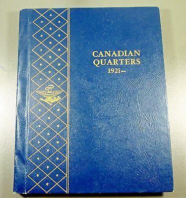 Canadian Quarter Collection In Whitman Album