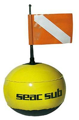 Seacsub Round Buy Fluo With Line   Signaling buoys