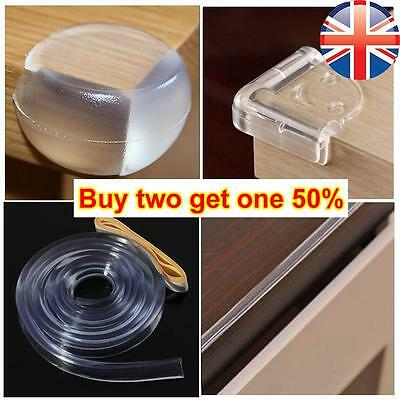 *UK Seller* Baby Toddler Kids Soft Corner Edge Protector Guard Safety Rubber