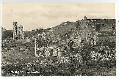 k irish postcard ireland louth mellifont abbey