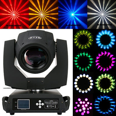 230W Osram 7R Zoom Gobo Beam Moving Head Light Spot Stage Wedding 16 Prism 20ch