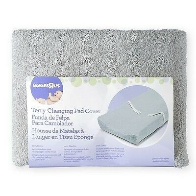 Babies R Us Terry Pad Cover - Grey