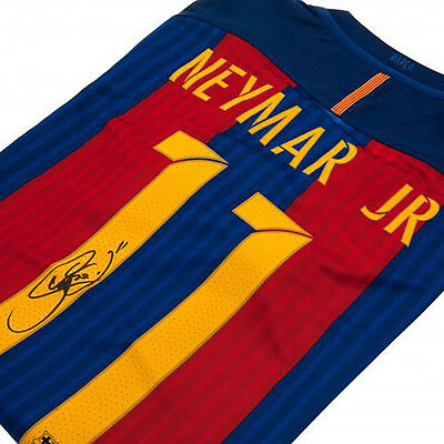 F.C Barcelona - Signed Shirt (NEYMAR JR)