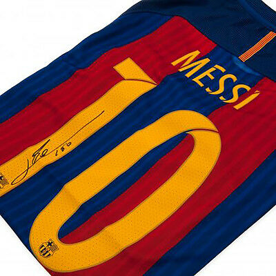 F.C Barcelona - Signed Shirt (LIONEL MESSI)