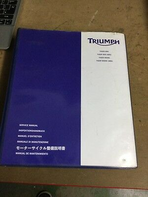Triumph Tiger 800, 800ABS,800XC, 800XC ABS Genuine Service Manual