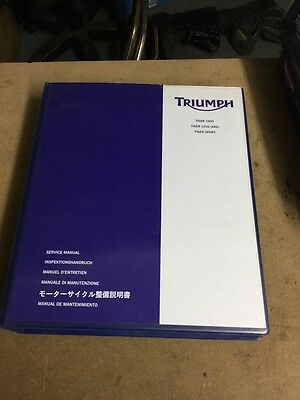 Triumph Tiger 1050 1050 ABS & Tiger Sport 1050 Genuine Triumph Service Manual
