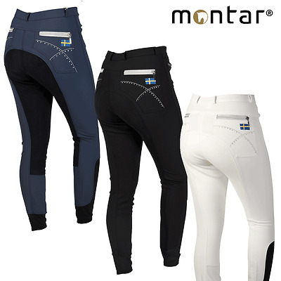 Montar Sweden Flag Breeches (Full Seat) ** FREE UK Delivery**