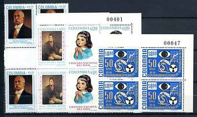 17-03-05585 - Colombia 1973 Mi.  - MNH 100% Block of four Culture