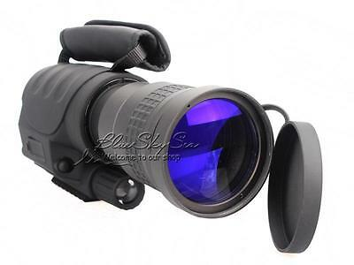 7*60 NV-760D IR Monocular Telescope HD Night Vision Sony CCD +3xBattery/Charger