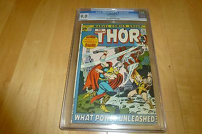 Thor 193 CGC 9.0 (1971, Marvel Comics) WHITE Pages Silver Surfer