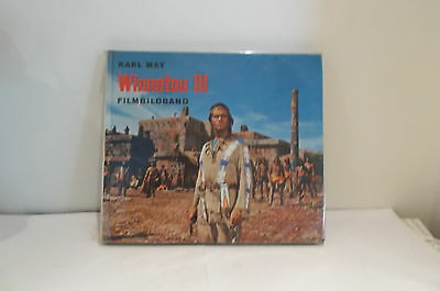Karl May 9  WINNETOU III / Film-Bildbuch 1966 / mit Pierre Brice + Lex Barker