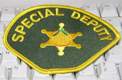 Orange County Sheriff Special Deputy Patch as used at Knotts Berry Farm