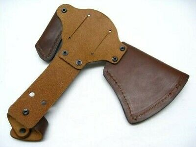 Columbia River CRKT Brown Leather Snap Sheath For Woods Kangee T-Hawk Axe D2735