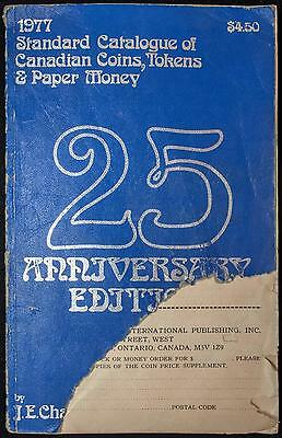 1977 Standard Catalogue of Canadian Coins, Tokens & Paper Money by J.E. Charlton