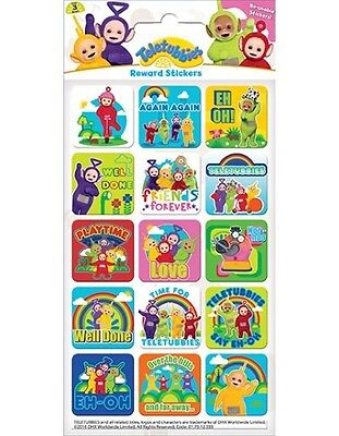 Teletubbies Sparkly Reward Stickers - Reward Charts or Crafts, Teletubby Fun!