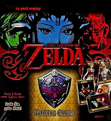 2016 Enterplay The Legend Of Zelda Factory Sealed Trading Card Box