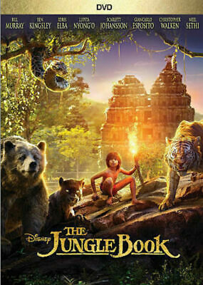 The Jungle Book (DVD, 2016) DISNEY BILL MURRAY USED VERY GOOD