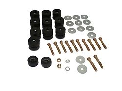 64 65 66 67 Chevelle Body Bushing Kit Convertible Complete With Hardware