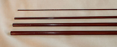 IM6, 4 PC, 8 WT, 9 FT FLY ROD BLANK, opaque brown, 1 Tip, by Roger